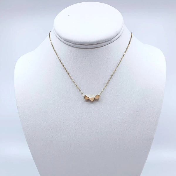 The Sweetheart Necklace in 10K Gold