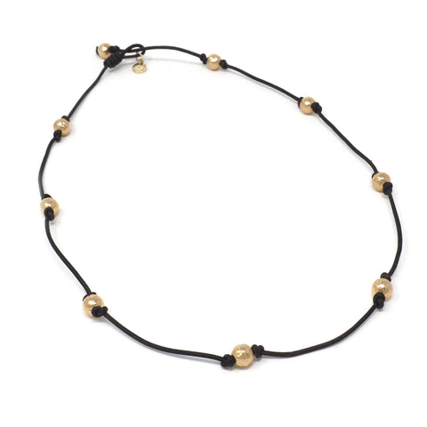 The Victoria Necklace in Gold Constellation