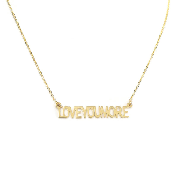 The Love Bar Necklace - Gold Plated