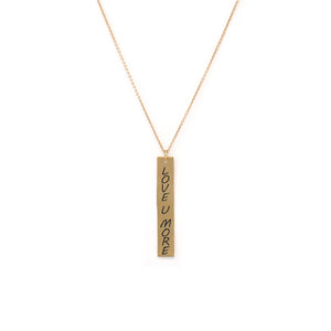 The Love Bar Necklace - Long