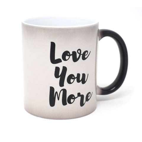 Love You More Secret Message Mug