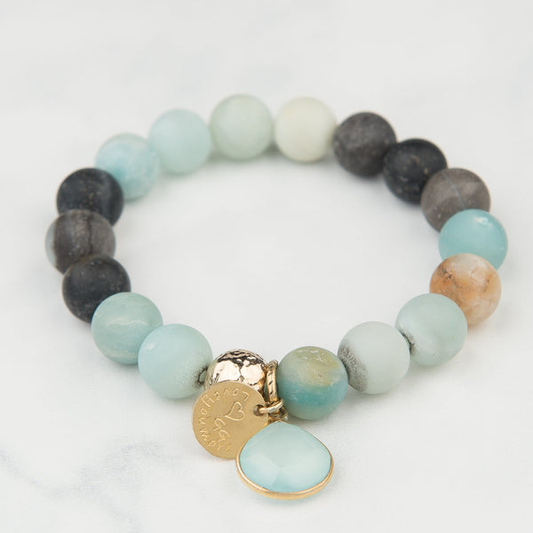 The Luna Bracelet in Ice
