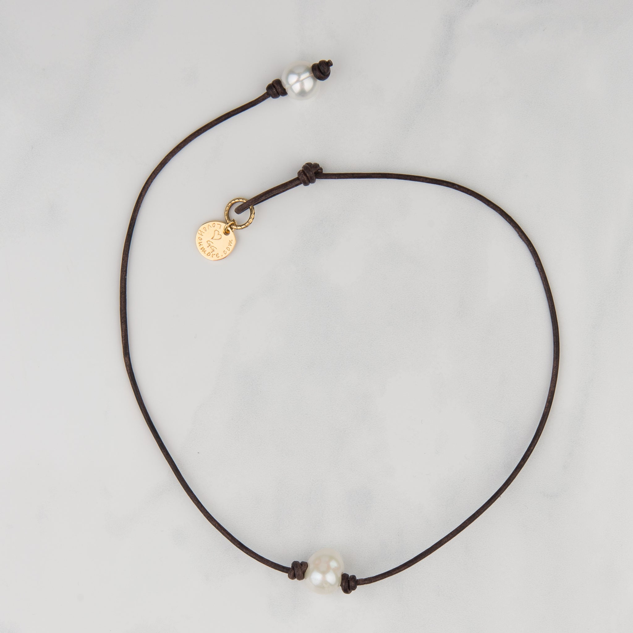 Boho Choker - Simple Pearl Bead Necklace