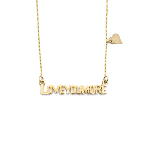 The Love Bar Necklace in 10K & 14K Gold