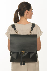 Large Leather Rucksack