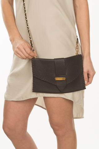 Belted Crossbody Clutch