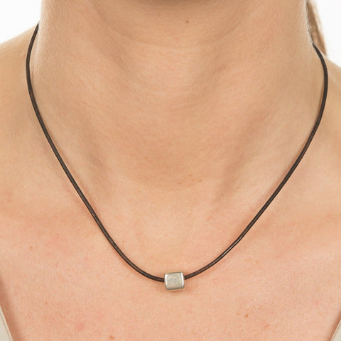 Small Cube Necklace
