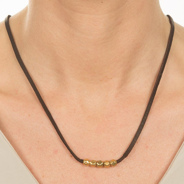 Fit to Be Square Necklace