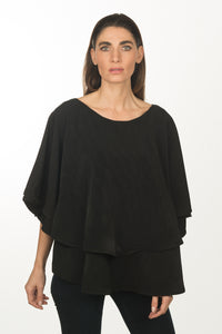 Black Flowy Blouse