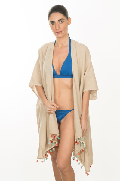 Tassel Beach Wrap