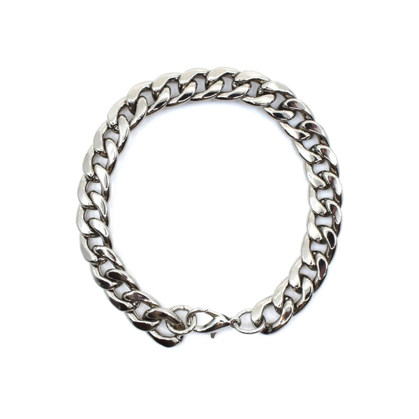 Mens Maximillion Bracelet in Silver