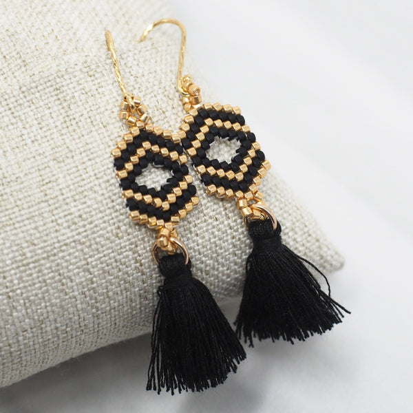 The Miyuki Earrings - 100% of Profits Donated