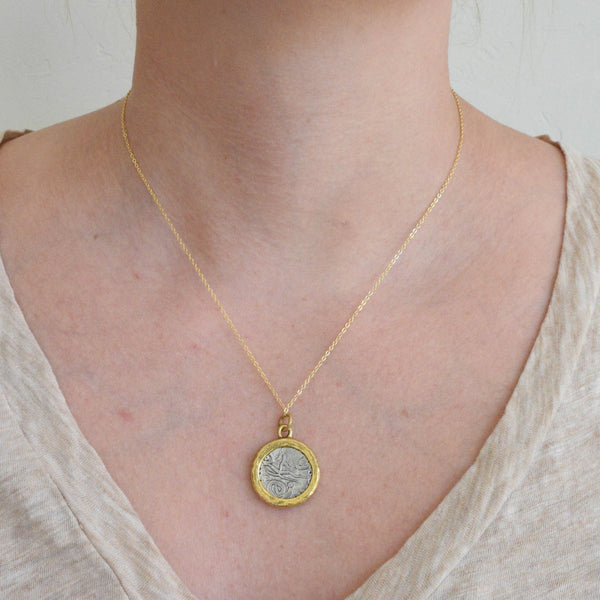 Neptune Coin Necklace