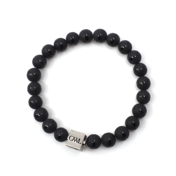 Mens Luna Bracelet with Owl