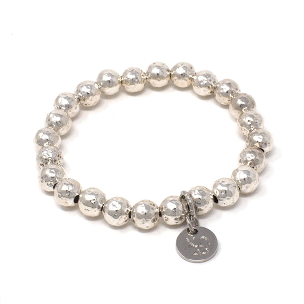 The Eternity Bracelet in Silver Shimmer