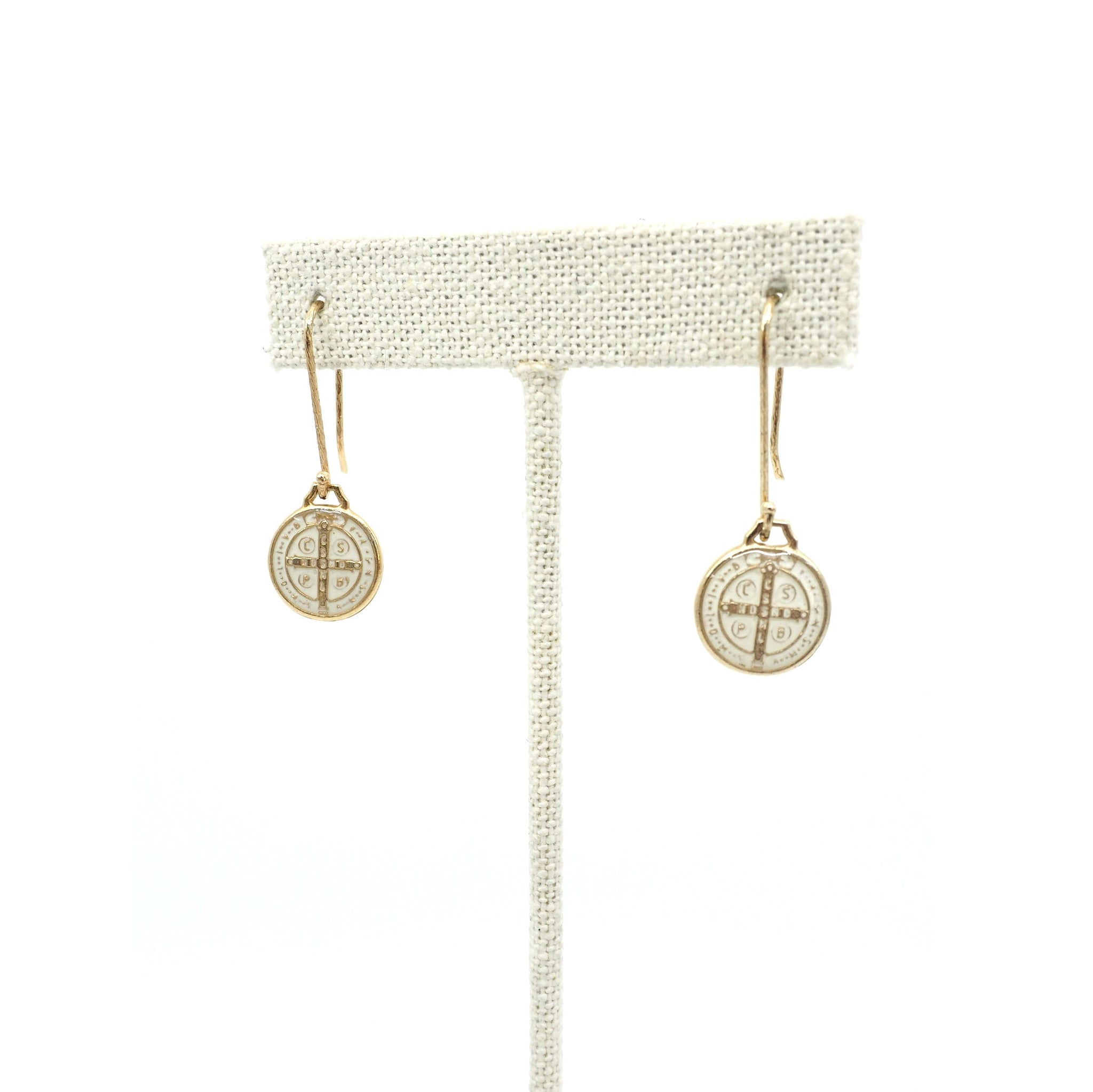The St. Benedict Earrings