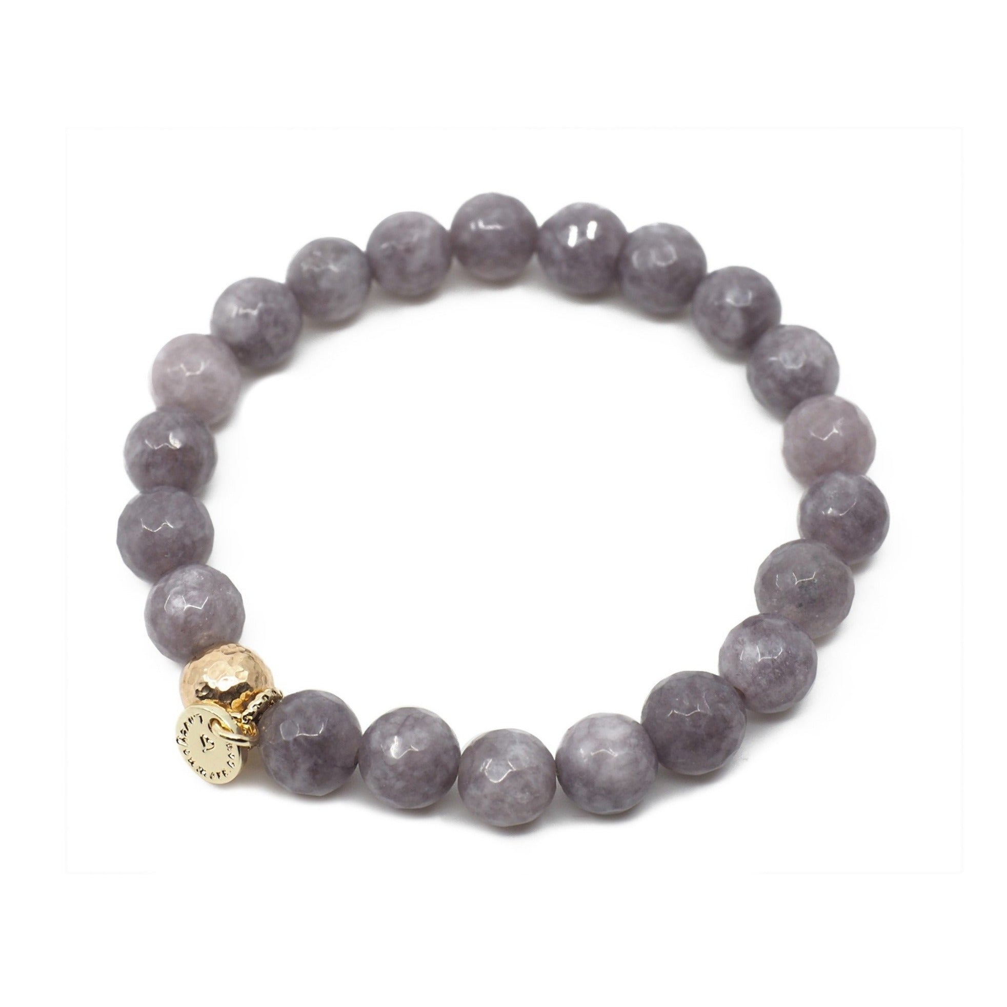 The Luna Bracelet in Geode