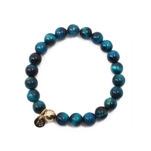 The Luna Bracelet in Ocean Blue
