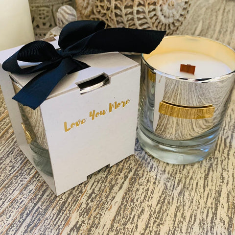 Love You More Wood Wick Candles