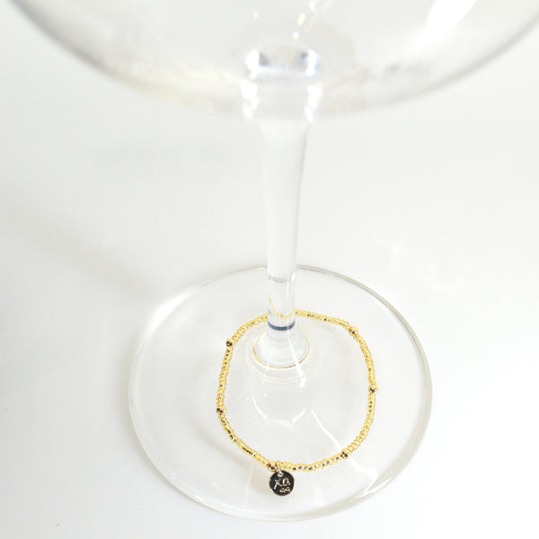 Beaded Wine Charm Set