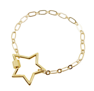 Written in the Stars Link Chain Bracelet