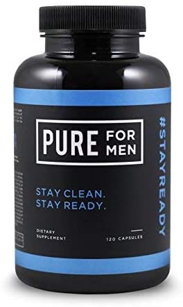 Pure for Men - The Original Vegan Cleanliness Fiber Supplement - Proven Proprietary Formula with Aloe