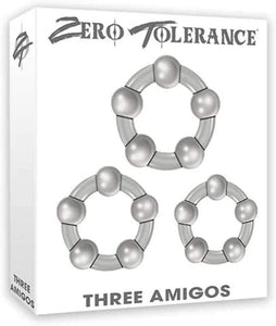 Zero Tolerance Beaded Cock Rings