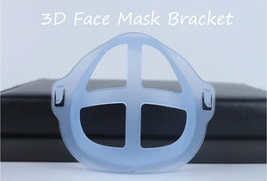 Silicone Mask Inner Bracket for More Space Comfortable Breathing, 3D Mask Bracket Inner Support, Face Inner Insert Mask
