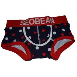 Polka Dot Men's Underwear Seobean
