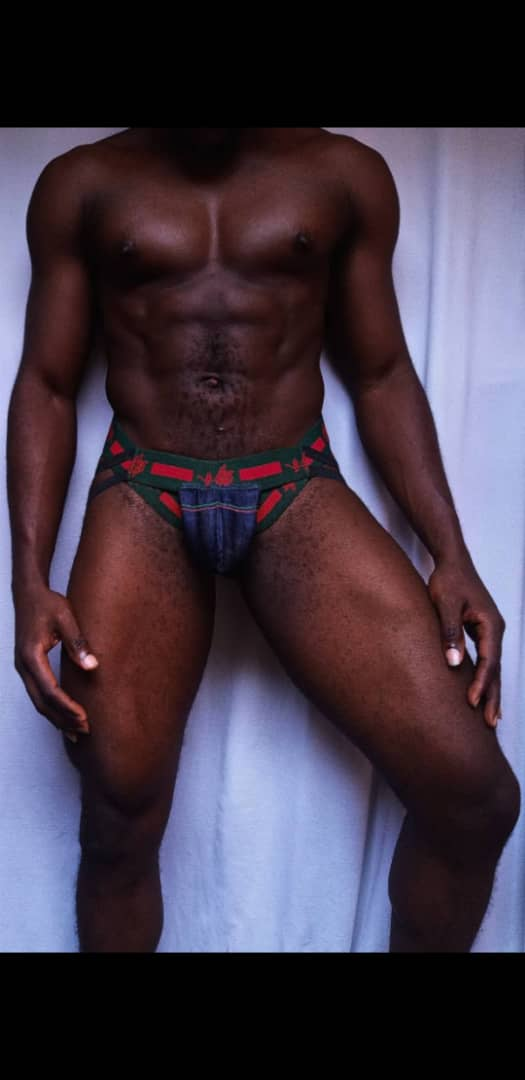 Red/Green Strapped Jockstrap