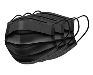 (Black) Disposable Face Masks