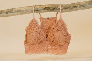 Magnolia Bralette( Available in multiple colors )