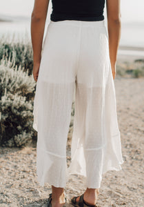 Darby Front Tie Pants ( Available in multiple colors )