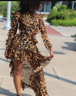 Cheetah Lady