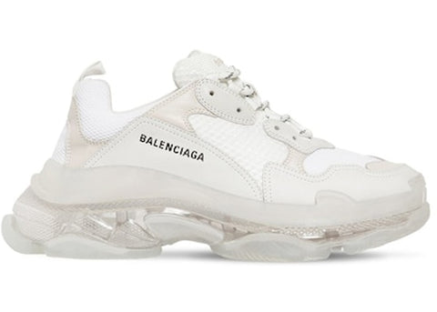 Balenciaga Triple S White Clear Sole