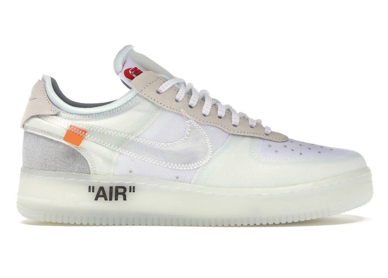 NIKE AIR FORCE OFF WHITE (TOP)
