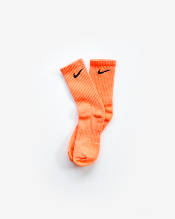 NIKE ORANGE SOCKS