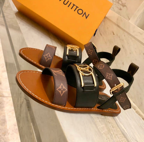 CHANCLAS LOUIS VUITTON