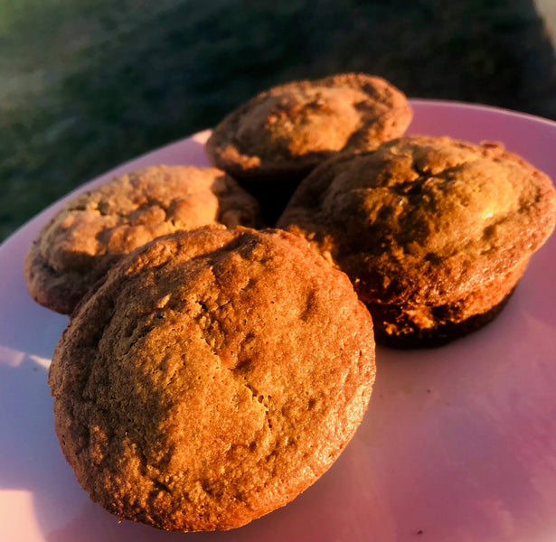 I know I can always trust you apple & walnut muffins