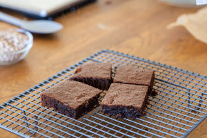 DELECTABLE CHOC LUPIN BROWNIE