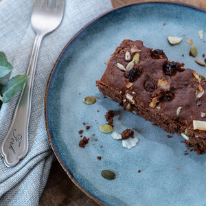 CHOC LUPIN BROWNIE