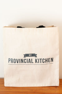 My Provincial Kitchen canvas tote