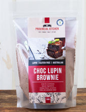 Load image into Gallery viewer, My Provincial Kitchen gluten free choc lupin brownie