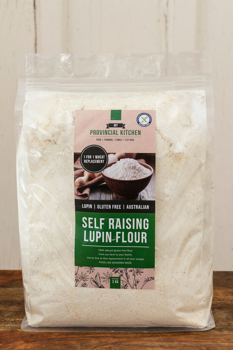 2kg SELF RAISING LUPIN FLOUR