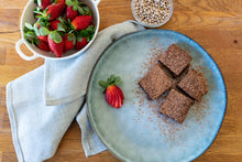 Load image into Gallery viewer, Gluten free choc lupin brownie