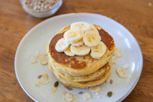 Load image into Gallery viewer, Gluten free lupin pancake stack