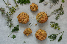 Load image into Gallery viewer, Gluten free savoury lupin muffins