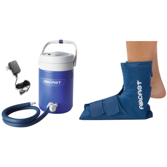 Aircast Cryo Cuff Cooler Ankle Pad - My Cold Therapy