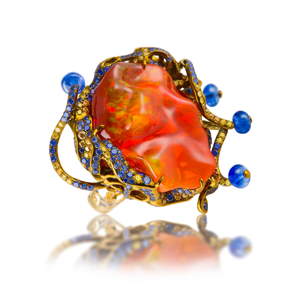 "Yuvarna ""Glow"" Ring"