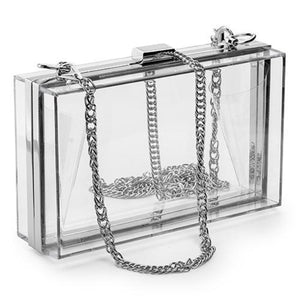 Acrylic Clear Purse - OWNPURPLE